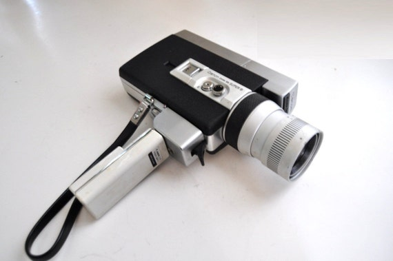 70s canon super 8 camera auto zoom 518 vintage video movie. Black Bedroom Furniture Sets. Home Design Ideas