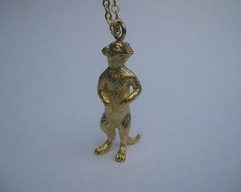 Meerkat Necklace