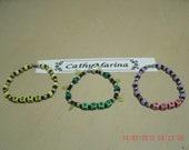 XOXO Beaded Bracelet