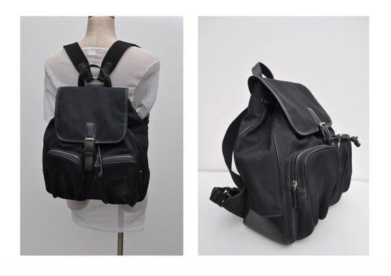 COACH vintage leather backpack purse back pack ruck sack rucksack
