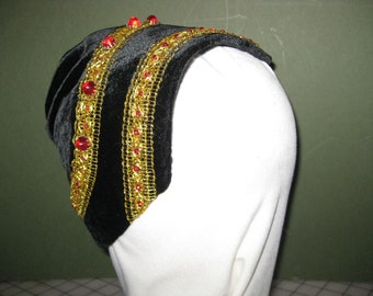 French Hood 1575 - 1600- Completed cap