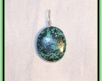 Vintage Natural Turquoise pendant