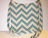 Your Color Choice Chevron Crossbody bag