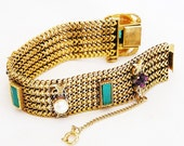 Victorian Revival Mesh Bracelet