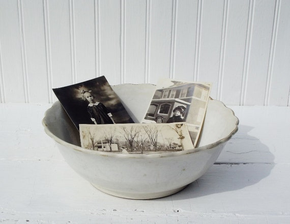 RESERVED Vintage Ironstone Bowl