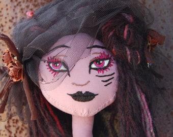 Purple Demon Girl