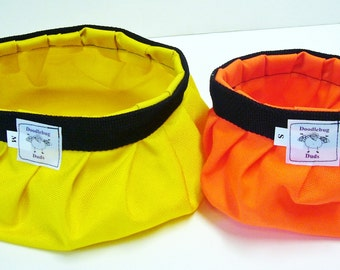 Doodlebug Dud's Collapsible and Portable Water Bowls