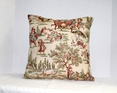 Pillow Cover 16 x 16 Covington Lickety Split Fabric
