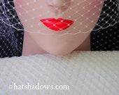 Cream Ivory Millinery Hat Veiling