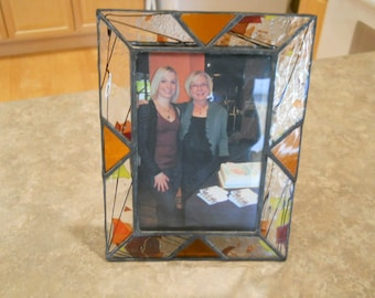 Confetti Stained Glass Picture Frame