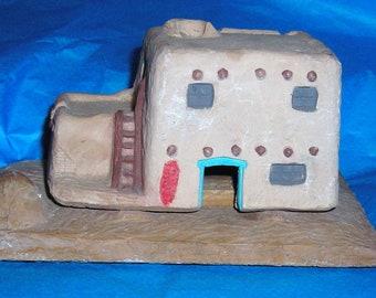 Santa Fe Pueblo Pottery Incense Burner ......SW1