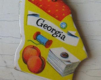 Georgia Vintage Puzzle Pendant