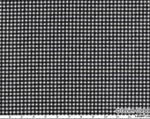 Japanese, Lecien, Small Gingham in Black and White, 4521-BK, 1/2 Yard