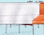 Waiting Room - Fine Art Print - FREE SHIPPING