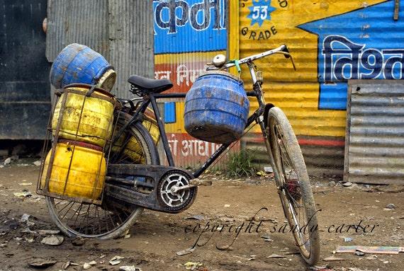 Nepal Bicycle Photograph