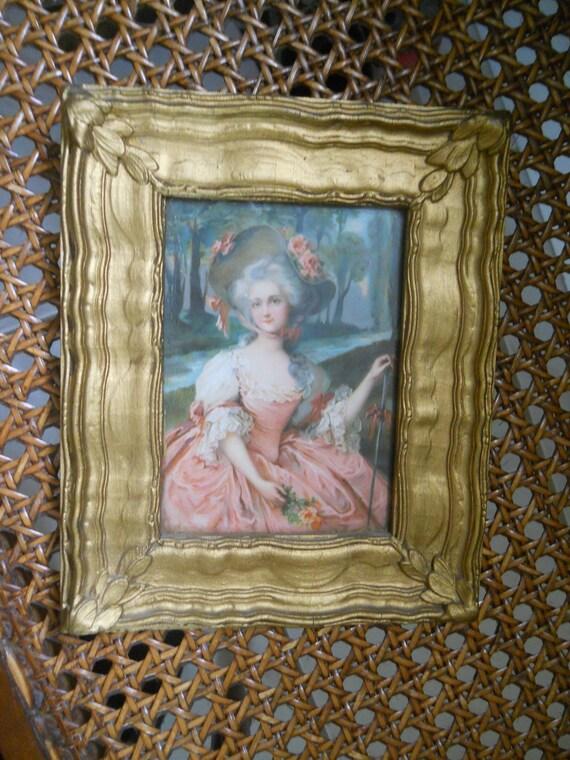 Antique Gesso Framed Print