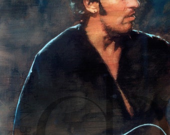 Bruce Springsteen - Limited Edition Print 11 x 17