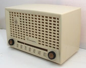 1950 Emerson 653 Tube Radio, Restored with Warranty