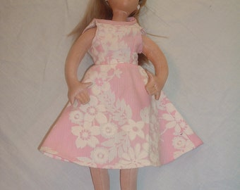 vintage collectible doll  19 inch blond hair blue eyes