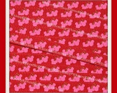 NEW 20 Yards 3/8 Hot Pink Wild CHERRY Mouse Heads on RED Grosgrain Ribbon Hair Bows Scrapbooking Sewing Crafts Decor Party Fruit Decor