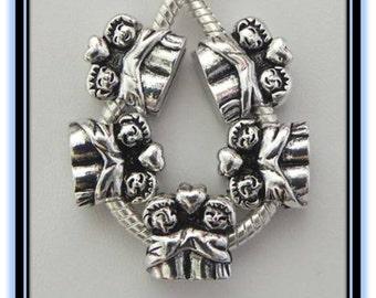 Couple Charm - Fits European Style Bracelets