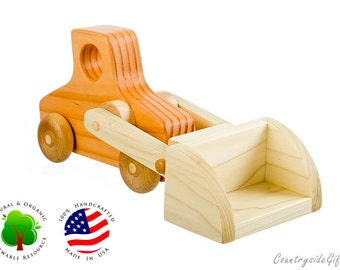Natural & Organic Wooden Toy Loader