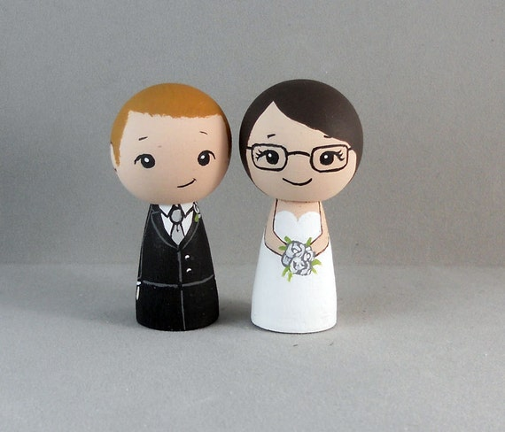 redhead wedding cake topper groom wedding cake toppers 19127