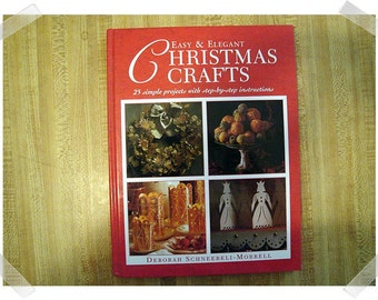 Easy & Elegant Christmas Trees- Hardcover Craft Book/Craft Supplies*