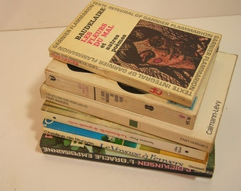 Vintage French Book Collection
