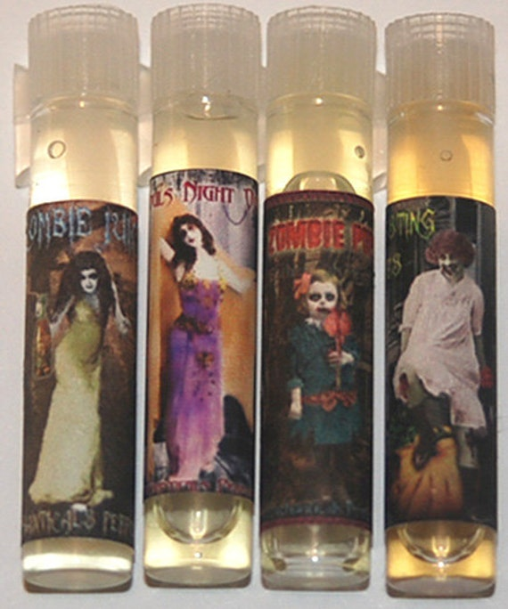 Zombie Love collection sample size perfume oils