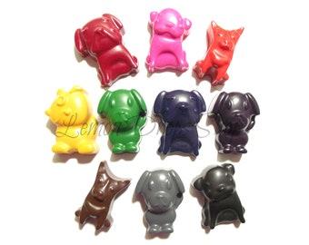 Puppy crayons set of 10