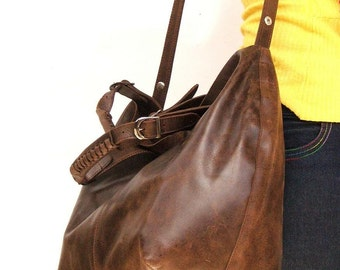 Tote bag made of 100%  pure leather for Market  library or every day bag for women leather crossbody bag  cross body bag