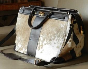 SALE!! Genuine Leather Travel Bag