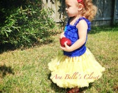 Snow White Costume Small fits 1 to 2 Years - SALE
