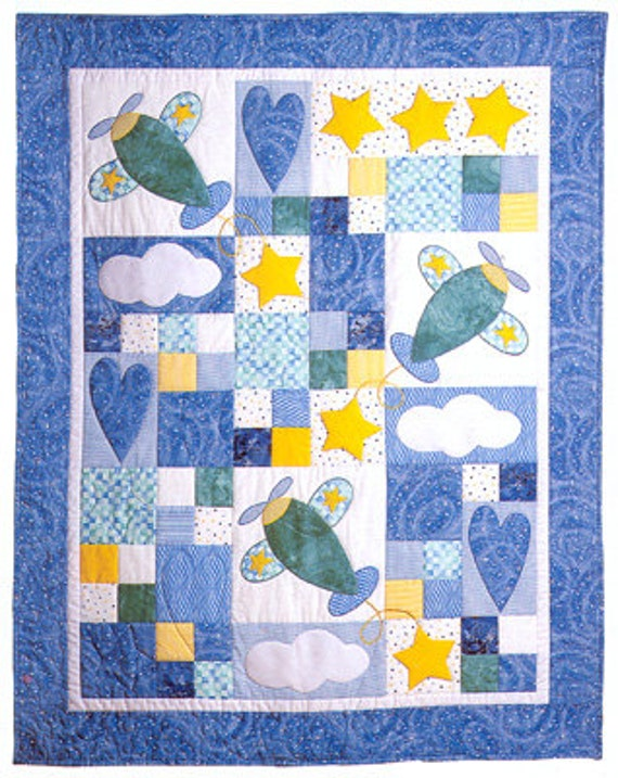 Sky Dreams Baby Quilt Pattern by Country Quilter by agardenofroses