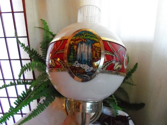 Vintage Rare Adolph Coors Beer Bar Pub Club Man Can Sconce Wall Light Lite Colorado Waterfall