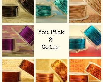 20 gauge Wire Special - YOU Pick 2 - Enameled Coated Copper