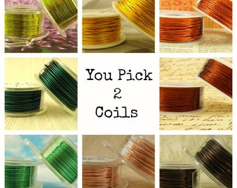 22 gauge Wire Special - YOU Pick 2 - Enameled Coated Copper