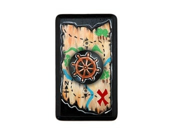 Pirate Map Dimmer Switch Plate COVER
