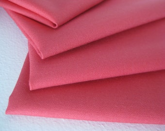 Cloth Napkins - Muted Red - 100% Cotton Napkins