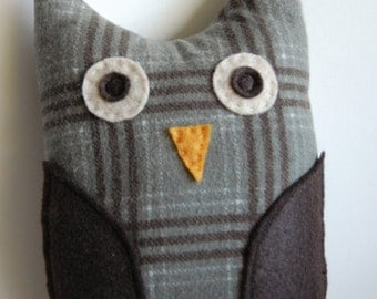 Large Plush OWL toy - Meriweather - children gift woodland - stocking stuffer