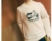 SD13 Boy  Basic Scooter T shirts