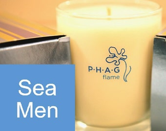 PHAG flame Premium Soy Candle- Sea Men