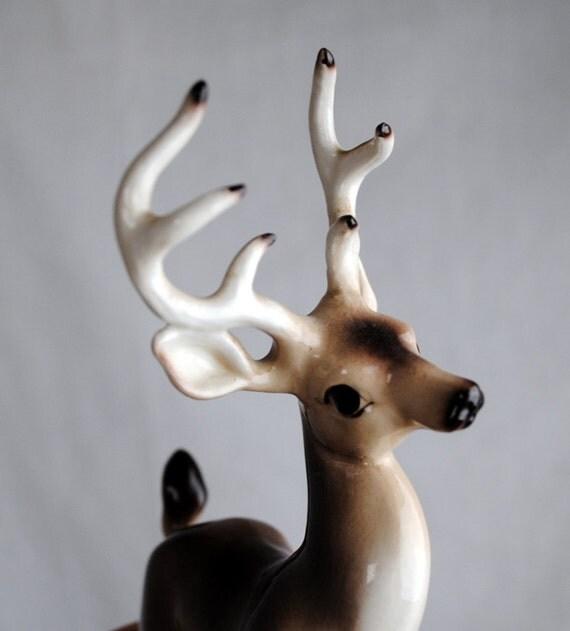 Sweet Vintage Stag Buck Deer Figurine