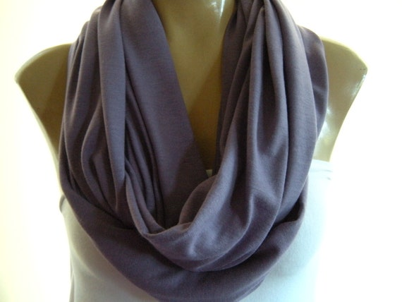 Dusty Lavender... Nomad Cowl.....Infinity Scarf..Relaxed version