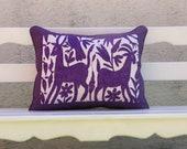 Purple Otomi Shams Ready to ship