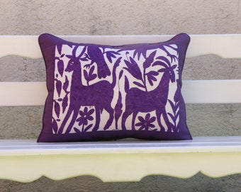 Purple Otomi Shams Ready to ship