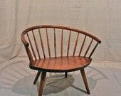 Mid-century Modern Vintage Swedish Chair by Yngve Ekstrom Scandinavian Design