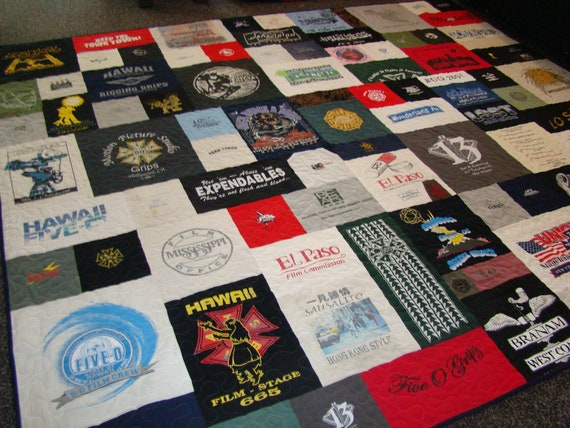 Custom Tshirt Quilt - Cal King - No Money Down