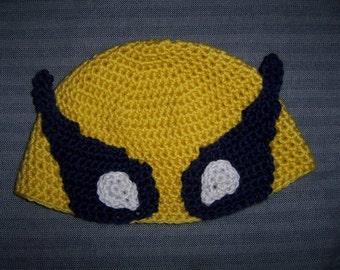Wolvie *inspired* Hat Crochet Pattern 2T-5T
